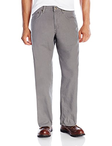 Carhartt Men's Loose Fit Five Pocket Canvas Cleaning Pant-Beige front