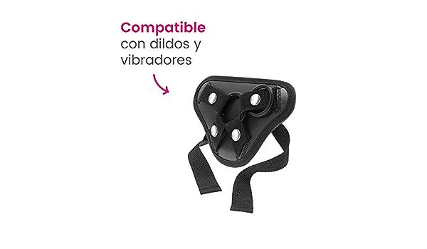 Arnés sexual ajustable Samba compatible con dildos y ...