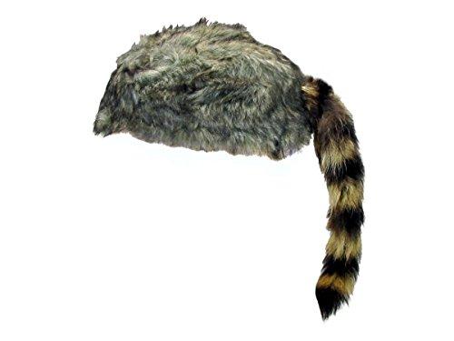 Daniel Boone Coontail Cap (Large)