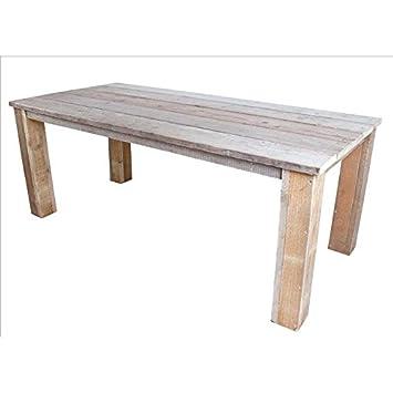 Amazon.de: Bauholz Möbel Tisch Gahalia Gartentisch Holztisch ...