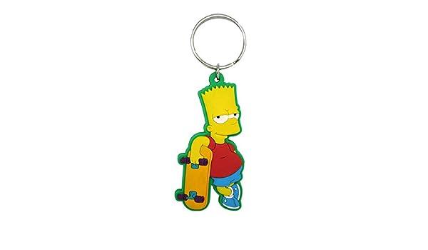 Fox Bart Simpson - Llavero (PVC, Tacto Suave): Amazon.es ...