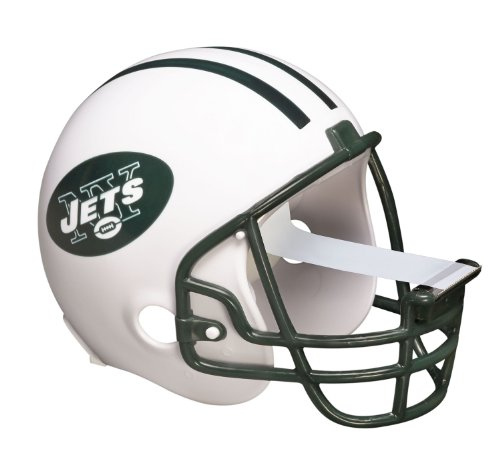Scotch Magic Tape Dispenser, New York Jets Football Helmet with 1 Roll of 3/4 x 350 Inches Tape