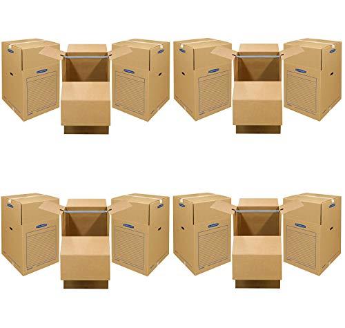 Bankers Box SmoothMove Wardrobe Moving Boxes, Short, 20 x 20