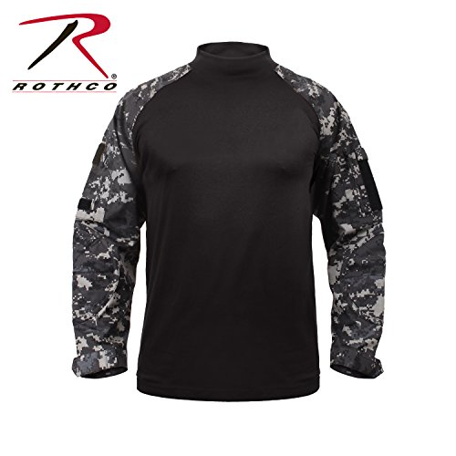 (Rothco Combat Shirt, Subdued Urban Digital Camo, Medium)
