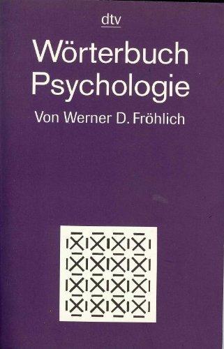 dtv-Wörterbuch Psychologie (Information & Wissen)
