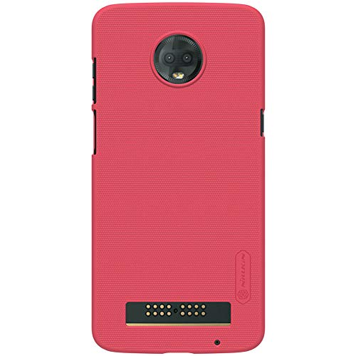 - Kepuch Frost Moto Z3 & Z3 Play Case - Super Frosted Shield Shell PC Hard Case Cover for Moto Z3 & Z3 Play - Rose
