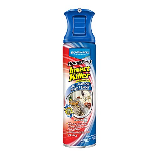 Bayer Advanced 701310 Home Pest Insect Killer Continuous Spray, 15-Ounce