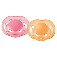 Philips Avent Orthodontic Pacifier, 6-18 Months, Free Flow, Various Colors, SCF178/24