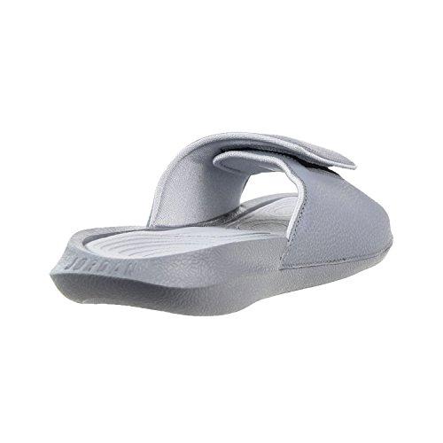 7f956b720f4591 Nike Jordan Mens Hydro 6 Slide Sandals Cool Grey White-Wolf - Import It All