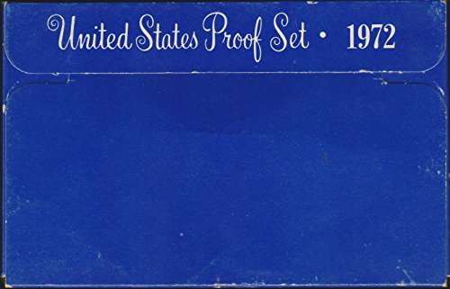 1972 S United States Mint Coin Proof Set - Gold Set Indian Coin