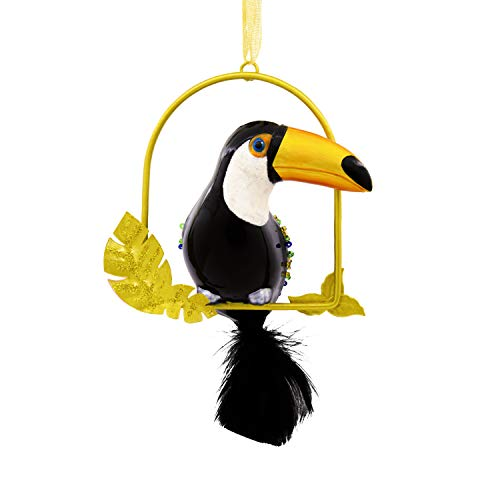 Hallmark Christmas Ornaments, Hallmark Signature Premium Toucan Glass Ornament