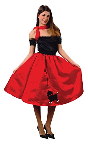 Ladie (50s Poodle Skirt Costume Uk)