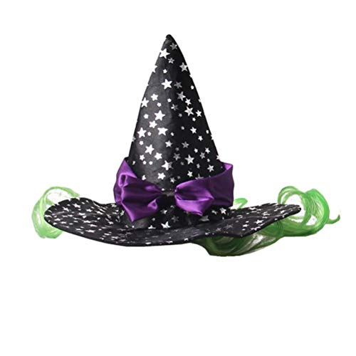 Ollypet Cat Dogs Halloween Costume Little Witch Wizard Pet Outfit for Small Dogs Cute Fleece Hat Party Event Apparel…