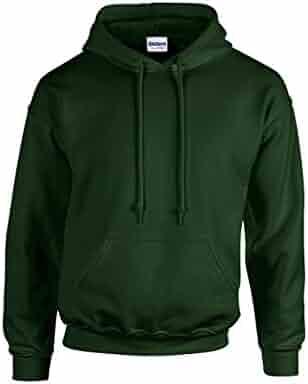 Gildan Heavy Blend Youth 8 oz., 50/50 Hood, XL, FOREST GREEN