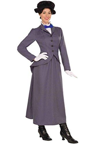 English Nanny Costume Plus (English Nanny Adult Costume (STD))