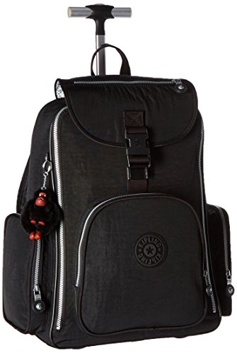 Kipling Luggage Alcatraz Wheeled Backpack with Laptop Protection, Black, One Size by Kipling