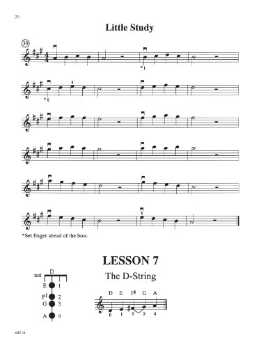 the abcs of violin for the absolute beginner book 1