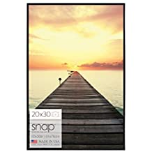 Gallery Solutions 10P1645 Black U-Channel Poster Frame, 20 by 30-Inch