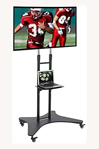 Tall Elitech TV Cart Mobile Stand for 32