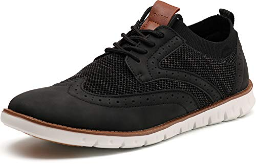 Men's Wingtip Oxford Dress Shoes Fashion Sneakers