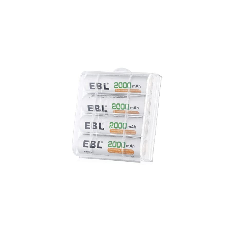 EBL chargers with batteries