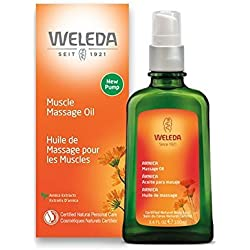 Weleda Massage Oil, Arnica, 3.4 Fluid Ounce
