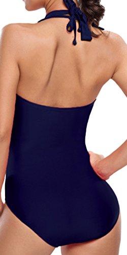 Frieda Fashion - Traje de una pieza - Básico - 100 DEN - para mujer Marine