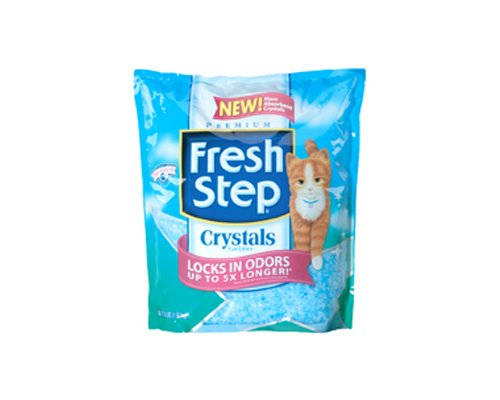 Fresh Step Crystals Cat Litter, 4-Pound Bags, 2-Pack