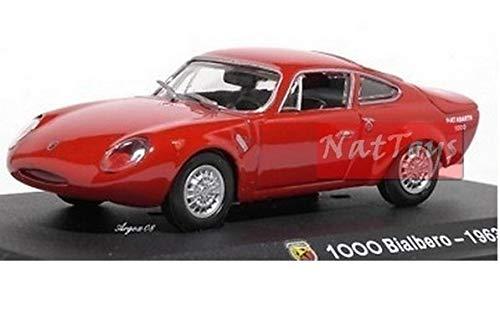 EDICOLA Hachette Abarth Collection 1000 Bialbero 1963 Die Cast 1:43 Model Scale Compatible con