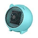 Mini Portable Space Heater?Electric Heater Fan Indoor,for Office, Personal Room Small Ceramic Space Heater