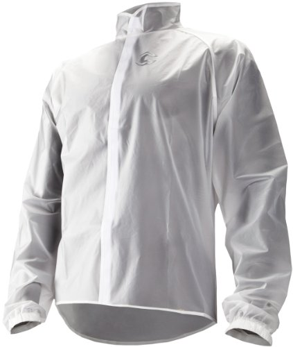 Cannondale Men's Clear Rain Shell, Clear, Small