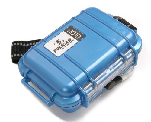 Pelican i1010 Waterproof Case for iPod (Blue) -