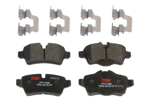 Ultimate Ceramic Rear Brake Pads - 9