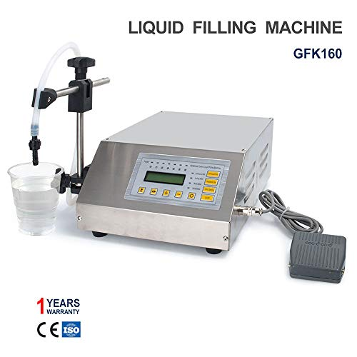 Sumeve Liquid Filling Machine Automatic Digital Control Bottle Filler(2-3500ml Digital Filling GFK160) ()
