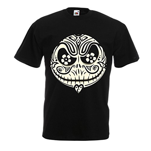 T Shirts for Men The Skull Face -The