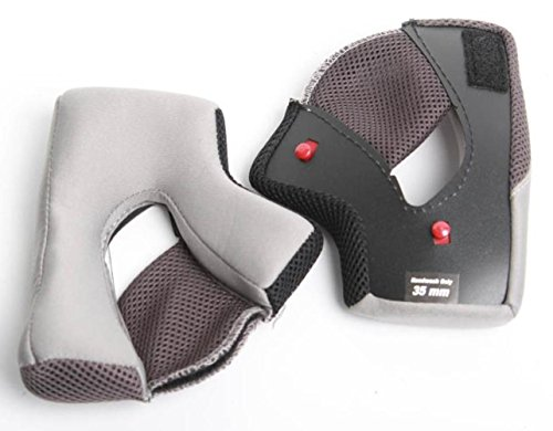 Bell Powersports Qualifier Helmet Replacement Cheek Pads (40MM) by Bell