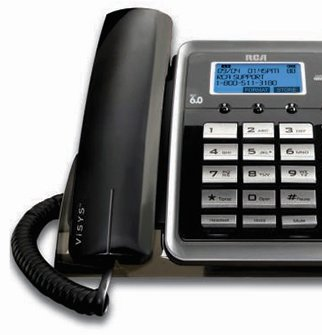 GE/RCA ViSYS 25260 + (1) 25055RE1 Corded Phone System with One Cordless Expansion Handset by GE/RCA (Image #1)