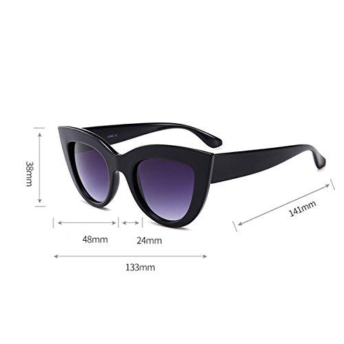 alta de sol niñas clásico de Protección para de mujer Gafas Gafas UV gato polarizadas de y calidad ojos conducir 100 de para ultrafina para mujeres vacaciones Blanco Co de diseño sol Gafas viajar 400 qPx1wE54v