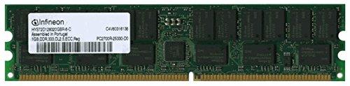 (1GB PC2700 DDR333 CL2.5 1Rx4 184-Pin Single Rank Registered ECC SDRAM DIMM (p/n ADJ))
