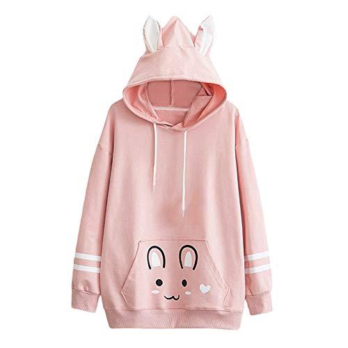 Womens Tops Sale,KIKOY Girls Cat Hooded Long Sleeve Sweatshirt Casual Pullover - Die Kids Sweatshirt