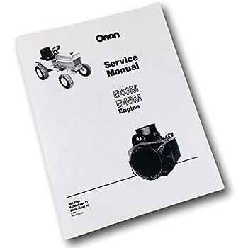Amazon.com: Caso 648 Industrial Tractor Onan B48M 18Hp Motor ...