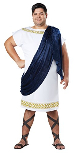 California Costumes Men's Size Grecian Togaadult Plus