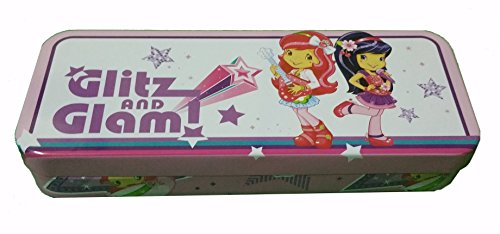 Licensed Character Tin Pencil Case (Strawberry Shortcake 3)