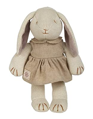 "Miyim Organic Fairytale Knit Collection - 9"" Baby Victoria The Bunny"