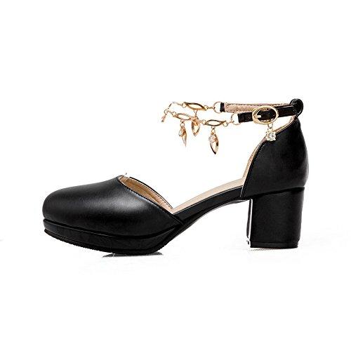 Sandales Compensées DIU01086 Noir Noir Femme 36 AN 5 RqPCwTC