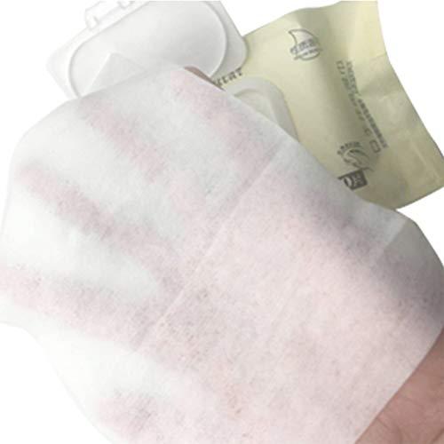 Lurrose Una bolsa de pañuelos húmedos para bebés,toallas portátiles,papel higiénico para la boca,tapones para niños…