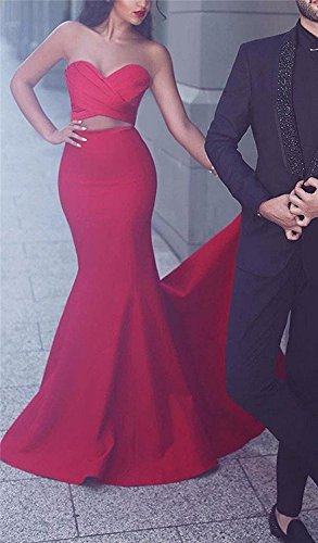 Formal Women's Out Yinyyinhs Black Long Dresses Prom Cut Gown Mermaid Evening OqgqnPx70w