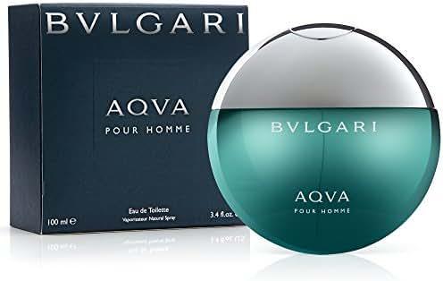 B v l g a r i Aqva Pour Homme Eau De Toilette Spray for Men 3.4 oz.