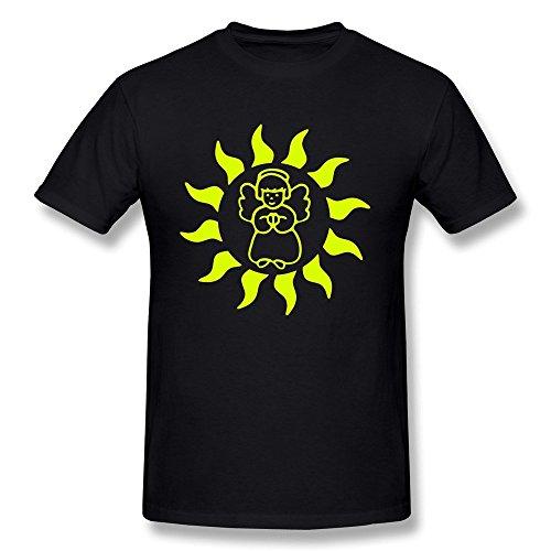 ANXIAO Sun Angel Tee For Mens XXL - Heavyweight T-shirt Angels