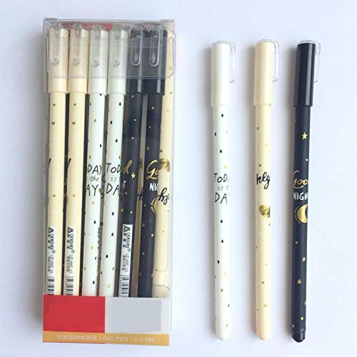 (3 Pcs/lot Tomorrow Star Gel Pen Ink Pen Promotional Gift Stationery School & Office Supply)
